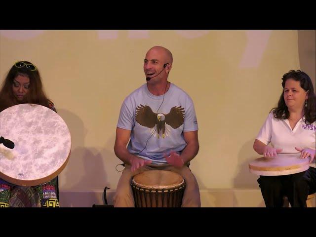 Drum Circle led by Joel Jadus at First Unity Spiritual Campus