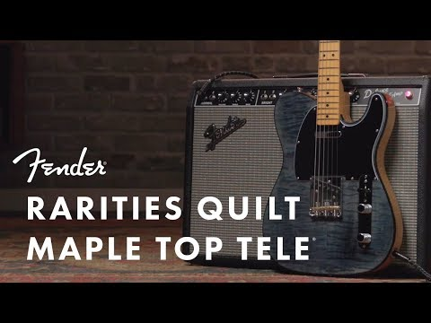 Fender's new Rarities Maple Top Telecaster is a Quilty pleasure | Guitarworld
