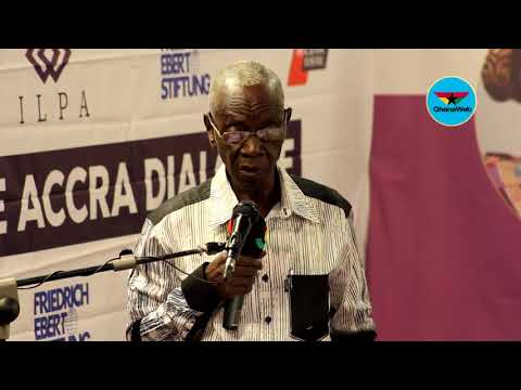 "Full speech of Dr  Kwadwo Afari Gyan at ""The Accra Dailogue"""