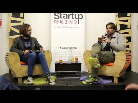 Morten Lund (Skype etc.) at Startup Grind Copenhagen