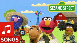 Sesame Street: Animals on the Farm | Wheels on the Bus Remix #2