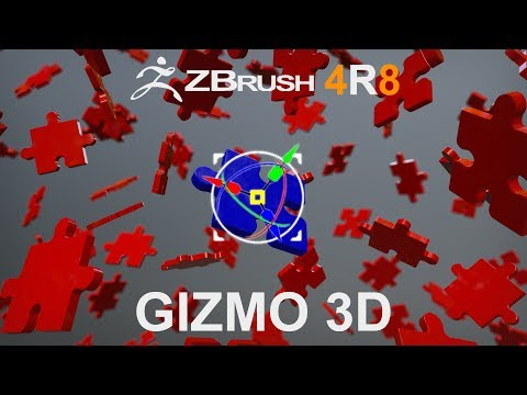 Z Brush 4R8: Gizmo 3D and Text 3D