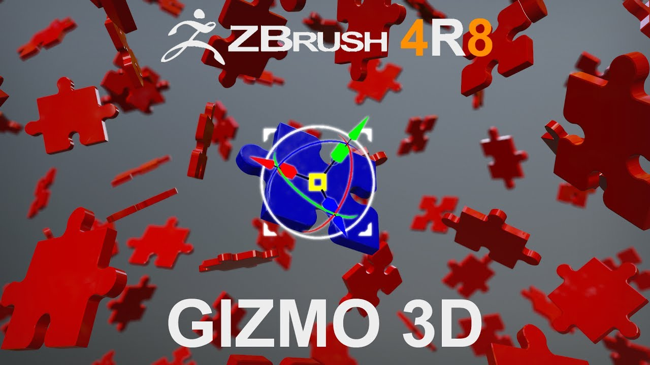 ZBrush 4R8: Gizmo 3D and Text 3D - Random Art Attack