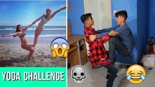FUNNY YOGA CHALLENGE!!!