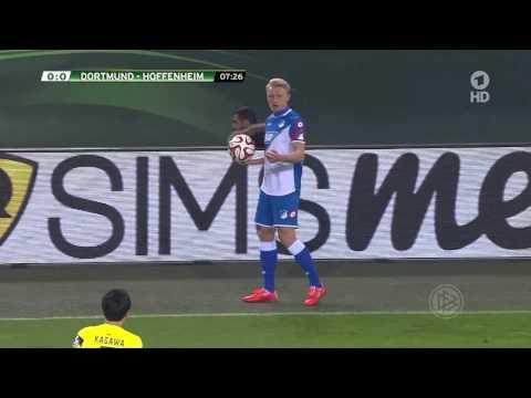 BVB - 3:2 - Hoffenheim - DFB-Pokal - 2014/2015 - ganzes Spiel