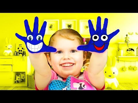 Agnes finger painting for kids