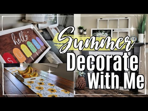 ☀️ DECORATE MY HOUSE FOR SUMMER :: FARMHOUSE HOME DECOR :: SUMMER DECORATING IDEAS