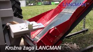 Repeat youtube video Krožna žaga s trakom LANCMAN