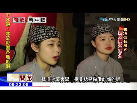 2018.02.04開放新中國/「我在北京端盤子」 台青登陸震撼