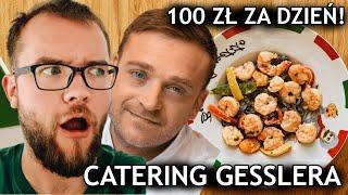 Mateusz Gessler i najdroższy CATERING DIETETYCZNY - TEST! Dieta pudełkowa Warszawski Dzień | #247