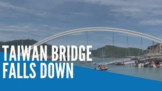 Taiwan bridge collapses, at least 14 injured; rescuers fear six trapped