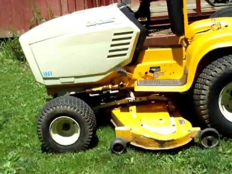 Cub Cadet 122 2082 super garden tractor YouTube
