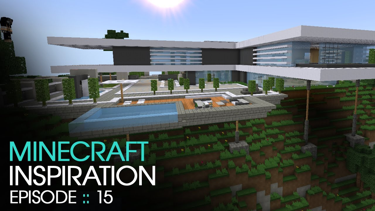 Minecraft modern mountain house inspiration w keralis youtube - New contemporary home designs inspirations ...