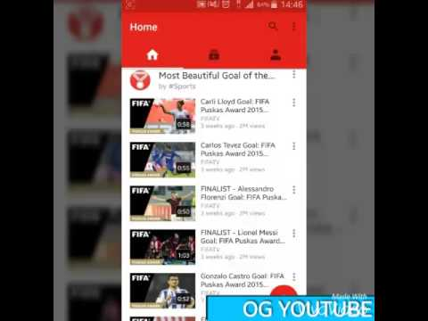 Download YouTube Videos On Any Android Phone》》 OGYOUTUBE-YOUTUBE DOWNLOADER(Actually Works)
