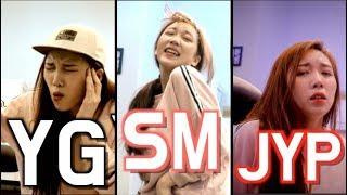 SM/YG/JYP impressions UPGRADE🔥/ the big 3 k-pop entertainments