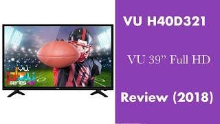"VU H40D321 39"" Full HD LED TV Review & Price (2018) - MR10 Review"