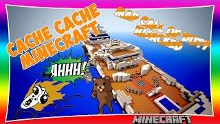 CACHE CACHE SUR MINECRAFT ! MAP Hijacked | Minecraft FR