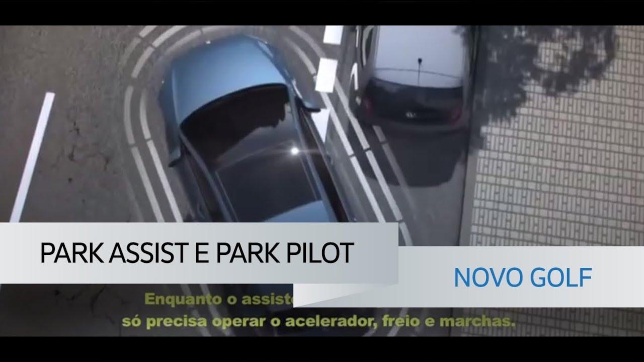 park assist e park pilot novo golf volkswagen youtube. Black Bedroom Furniture Sets. Home Design Ideas
