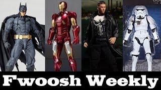 Weekly! Star Wars Black Series, SHF Avengers, Mezco Punisher, Revoltech Batman, and more!