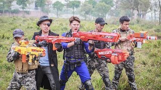 LTT Nerf War : Special Police SEAL X Warriors Nerf Guns Fight Criminal Group Dr Lee Bandits