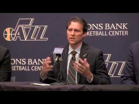 Quin Snyder introduced as Utah Jazz head coach