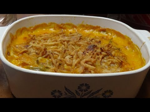 HOLIDAY RECIPES - Green Bean Casserole With A Twist - Must Try!!