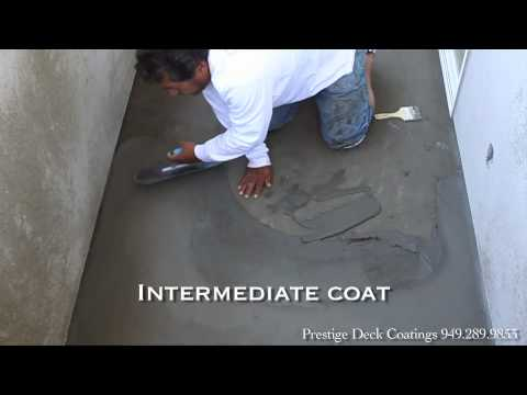 sika waterproof coating instructions
