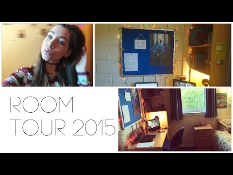 Uni Room Tour 2015