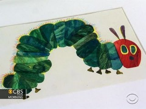 """Very Hungry Caterpillar"" creator marks 45th anniversary"