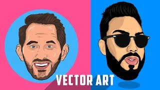 HOW TO MAKE VECTOR ART ON [IOS & ANDROID]