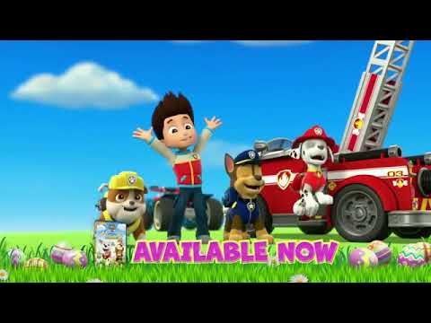 Paw Patrol: Pups Saves The Bunnies DVD Commercial (2017)