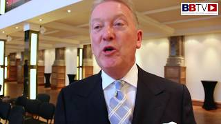 FRANK WARREN ON JOSH WARRINGTON, CANELO-GGG AND HOW PROMOTING HAS CHANGED