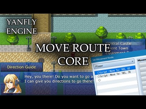 Move Route Core (YEP) - Yanfly moe Wiki