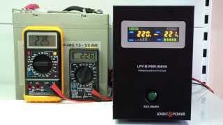 ИБП Logicpower LPY-B-PSW-800, для котлов отопления, чистая синусоида, внешняя АКБ(LogicPower LPY-B-PSW-800 – источник бесперебойного питания, с линейно-интерактивным типом архитектуры, обеспечивающи..., 2015-06-07T12:23:15.000Z)