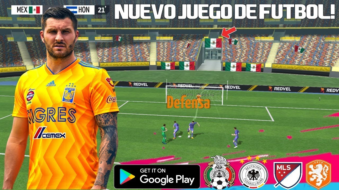 Increible Juego De Futbol 2019 En Android Con Modo Historia