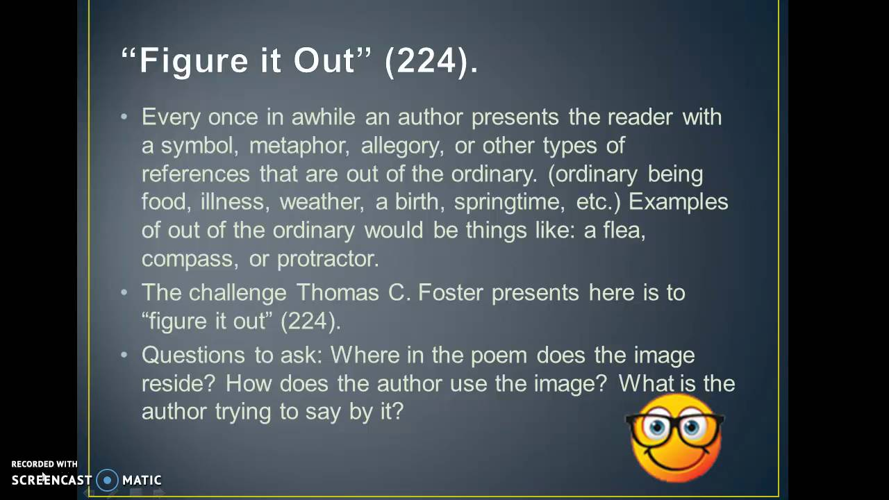 How To Read Literature Like a Professor Ch 25 & 26 - YouTube