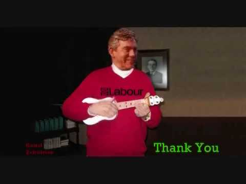 Gordon Brown Say's Goodbye With A Song