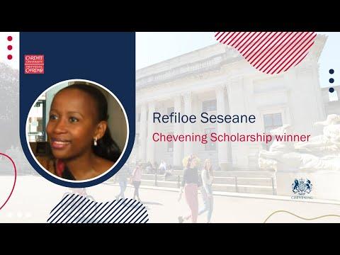 Refiloe Seseane: Chevening Scholarship winner