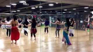 Arabic - Yama Yama remix (Belly Dance Basic class) choreographed by Karen