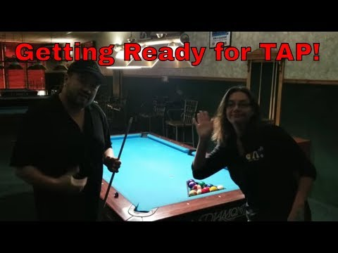 Getting Ready for Las Vegas TAP 8 Ball League