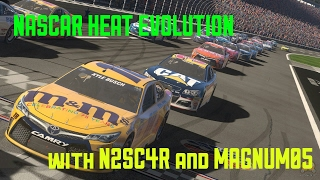 nascar heat evolution online racing with n2sc4r and magnum05