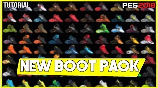 """PES 2018   New Boot Pack  """"download and install"""""""