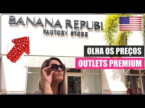 BANANA REPUBLIC no ORLANDO PREMIUM OUTLETS nos EUA