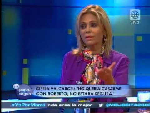 Gisela Valcárcel: Javier Carmona me pidió matrimonio tres veces
