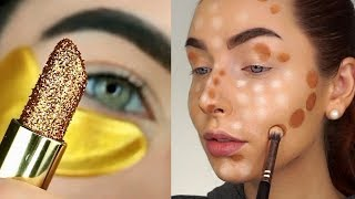 Os Melhores Tutoriais de Maquiagem das Gringas💜 #174 / Cheias de Charme Tutoriais