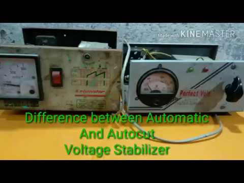Automatic Voltage Stabilizer और Autocut Voltage Stabilizer मे Basic Difference