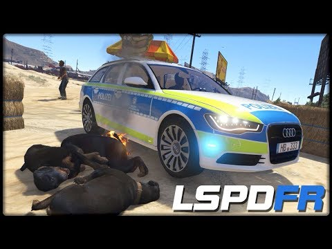 GTA 5 LSPD:FR #373 | Hundekampf in der Wüste - Deutsch - Grand Theft Auto 5 LSPDFR