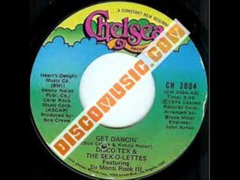 Disco Tex And The SexoLettes  Get Dancing