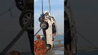 Mazda CX-5 accident in penang bridge has be found  🔴