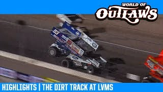 World of Outlaws NOS Energy Drink Sprint Cars the Dirt Track at LVMS February 28, 2019   HIGHLIGHTS